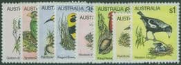 AUS SG734-40 Birds (2nd Series) set of 8