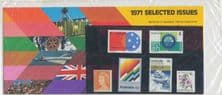 AUS Stamp Pack P12 1971 Selected Issues