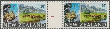 NZ Counter Coil Pair SG876 Trade Promotion Issue 20c Meat Export Join No. 1 (NCC/123)