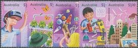 AUS 03/08/2021 Stamp Collecting Month 2021: Full STEAM Ahead set of 5