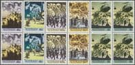 "AUS SG1241-5 ""The Anzac Tradition"" set of 5 blocks of 4"
