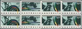 AUS SG1358-60 Barcelona Olympic Games 1992 and Paralympic Games set of 3 blocks of 4