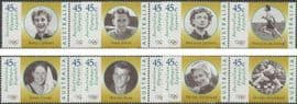 AUS SG1731-42 Australian Legends (2nd series): Olympic Gold Medal Winners set of 12 singles