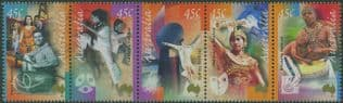 AUS SG1955a Arts Festivals strip of 5