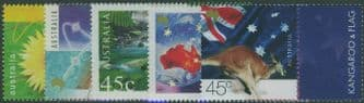AUS SG1972-6 Nature and Nation, Greetings Stamps set of 5