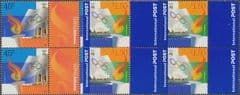 AUS SG2025-6 Joint Issue with Greece - Transfer of Olympic Flag set of 2 blocks of 4