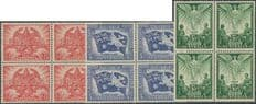 AUS SG213-5 Victory set of 3 blocks of 4