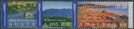 AUS SG2195-7 International Stamps: Views of Australia (3rd series) set of 3