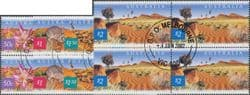 AUS SG2200-3 Fauna and Flora (5th series): Great Sandy Desert set of 4 block of 4