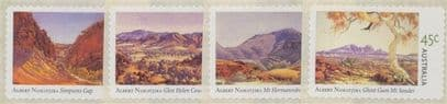 AUS SG2209-12 Birth Centenary of Albert Namatjira (artist) self-adhesives set of 4 from roll