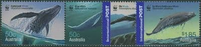 AUS SG2659-62 Endangered Species: Whales set of 4