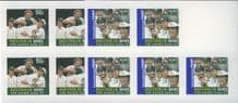 "AUS SG2739a-40a ""Australia wins the Ashes"" set of 2 sheetlets"