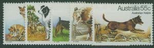 AUS SG729-33 Dogs set of 5