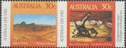 AUS SG961-2 30c Musgrave Ranges & 30c The Walls of China set of 2 singles