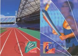 Australia Maximum Cards: APMX 182 Paralympic Games, Sydney (2nd issue) set of 2