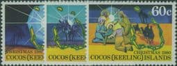 CKI SG50-2 Christmas 1980 set of 3