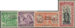 Cook Islands SG146-9 1946 Peace Issue set of 4