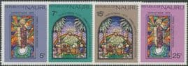 Nauru SG139-42 Christmas 1975 set of 4