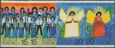 Nauru SG155-8 Christmas 1976 set of 4 in singles