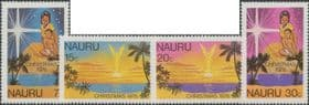 Nauru SG193-6 Christmas 1978 set of 4