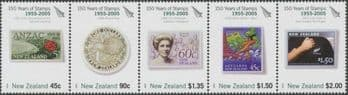 New Zealand Stamp Reward 2005 Stamps strip of 5