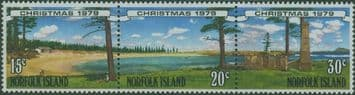 NFI SG230a Christmas 1979 strip of 3