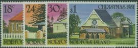NFI SG265-8 Christmas 1981 set of 4