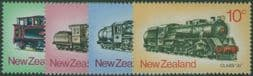 New Zealand Stamps SG1003-6 New Zealand Steam Locomotives set of 4
