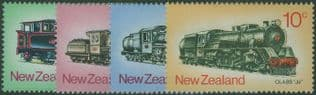 NZ SG1003-6 New Zealand Steam Locomotives set of 4