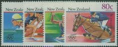 NZ SG1475-8 Olympic Games, Seoul health stamps set of 4