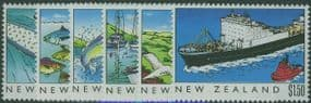 NZ SG1524-9 New Zealand Heritage (3rd issue) The Sea set of 6