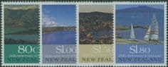 NZ SG1554-7 150th Anniversary of European Settlements set of 4