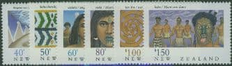 NZ SG1562-7 New Zealand Heritage (6th issue) The Maori set of 6