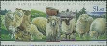 NZ SG1579-84 Sheep Breeds set of 6