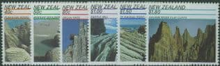 NZ SG1614-9 Scenic Landmarks set of 6