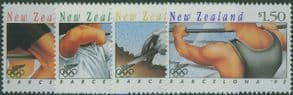 NZ SG1670-3 Olympic Games, Barcelona (2nd issue) set of 4