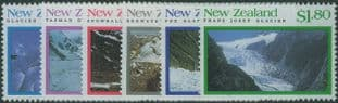 NZ SG1675-80 Glaciers set of 6