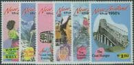 NZ SG1787-92 New Zealand in the 1950s set of 6