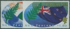 NZ SG1943-4 Commonwealth Heads Of Government Meeting, Auckland set of 2