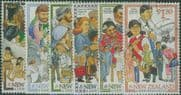 NZ SG2140-5 Millennium Series (2nd issue) Immigrants set of 6