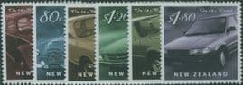 "NZ SG2329-34 ""On the Road"" Motor Cars set of 6"