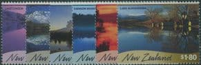 NZ SG2336-41 Scenic Reflections set of 6
