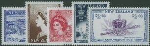 NZ SG2618-22 50th Anniversary of Coronation set of 5