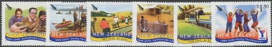 NZ SG2764-9 Anniversaries of Organisations (YMCA, Rotary, Lions) set of 6