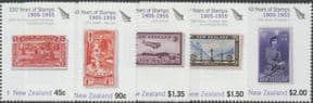 NZ SG2777-81 150 Years of New Zealand Stamps (2nd issue) set of 5