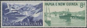 Papua New Guinea SG47-8 1963 Definitives set of 2