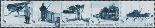 ROSS SG104-8 50th Anniversary of Commonwealth Trans-Antarctic Expedition set of 5