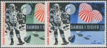Samoa SG330-1 First Man on the Moon set of 2