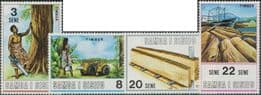 Samoa SG360-3 Timber Industry set of 4