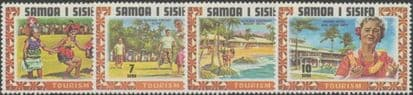 Samoa SG365-8 Tourism set of 4